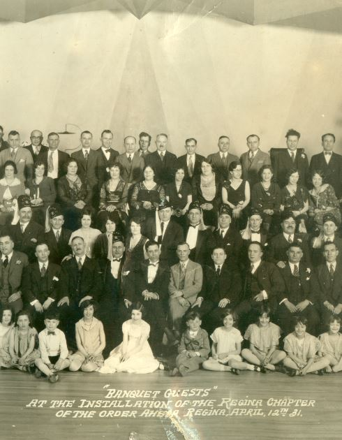 Photograph of Regina, Saskatchewan, Order of Ahepa banquet 1931